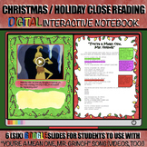 "Christmas Close Reading: DIGITAL Activity with ""You're a Mean One, Mr. Grinch"""