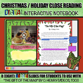 Christmas Close Reading: DIGITAL Interactive Activity with