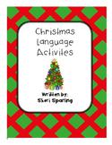 Christmas Close Reading Language and Writing Activities