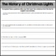 Christmas Close Reading Passages, Text-Dependent Questions & More