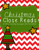 Christmas Close Reads Pack