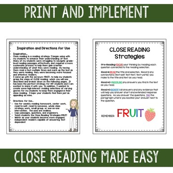 December Close Reads for BIG KIDS Common Core Aligned Christmas Edition
