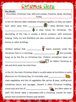 Cloze Worksheets | Teachers Pay Teachers