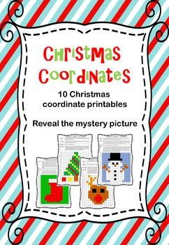 Christmas coordinates - reveal the mystery picture
