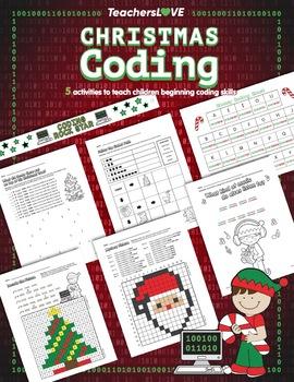 Christmas Coding: 5 Screen-Free Activities to Teach Beginning Coding Skills
