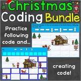Christmas Coding Practice Creating & Following Code Digita