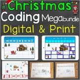 Christmas Coding Practice Mega Bundle Digital & Print Vers