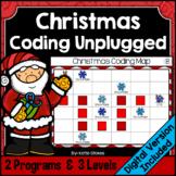 Christmas Coding Unplugged