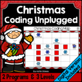 Christmas Coding Unplugged