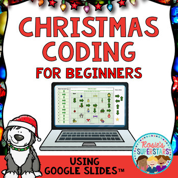 Christmas Coding for Beginners Using Google Slides™ | Great for Hour of Code™