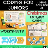 Christmas Coding for Juniors – Using Scratch Jr, notes, answer key