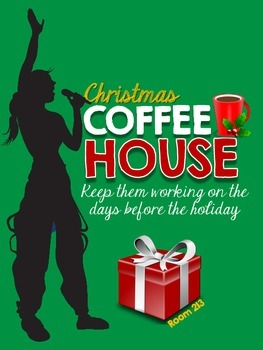Christmas Coffee House {Freebie}