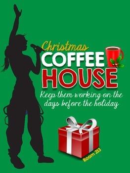 Christmas Coffee House {Freebie}