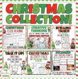 Christmas Language Arts Activities Bundle