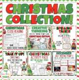 Christmas Activities BUNDLE English Language Arts Resources
