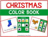 Christmas Color Books (Adapted Books)