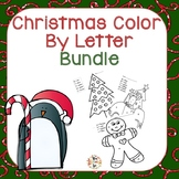Christmas Color By Letters Bundle