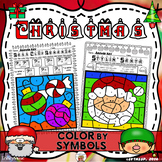 Christmas Color By Symbol (Music)