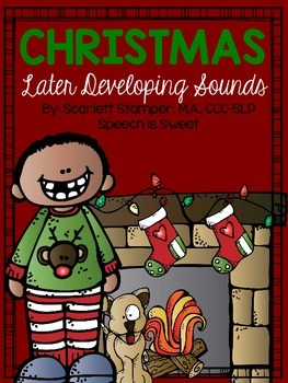 Christmas Articulation Activities: Later Developing Sounds