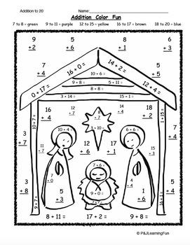 Christmas Color Fun: Religious