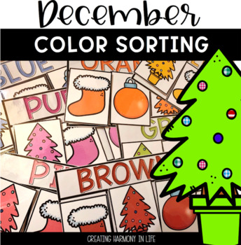 Christmas Color Sort (December)