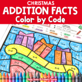 Christmas | Color-by-Code Addition | Color by Number