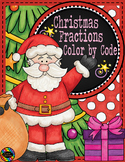 Christmas Color by Code Fractions/Equivalent Fractions