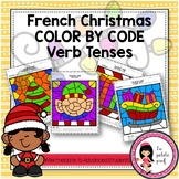 Christmas Color by Code French Verb Tenses {Intermediate to Advanced Students}