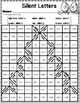 Christmas Color by Code Mystery Pictures Coloring Pages Math and Literacy