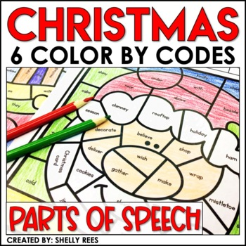 Parts Of Speech Coloring Page Teaching Resources Teachers Pay Teachers