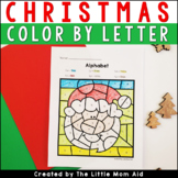 Christmas Color by Letter | Alphabet Coloring Pages