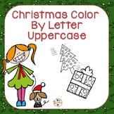Christmas Color by Letter Uppercase