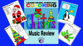 Christmas Color by Music Review