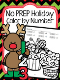 Christmas Color by Number