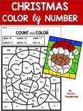 Ten Frames Christmas Coloring Pages