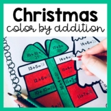 Christmas Color by Number: Addition (to 5, 10, 20 & 100)!