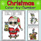 Christmas Activities Coloring Pages: Santa, Snowman, Elf, Dinosaur, Cat & Dog