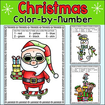 christmas activities coloring pages santa snowman elf dinosaur cat dog