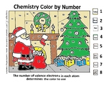Christmas Chemistry Color by Number - by Valence Electrons
