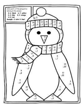 Free Christmas Color by Number Christmas Math Christmas Free Color by Number