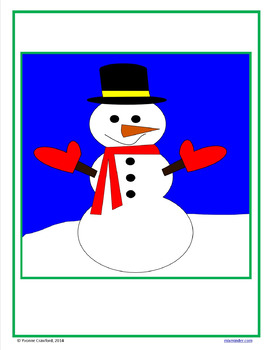 Christmas Color by Number (5th grade)  Color by Decimals, Fractions
