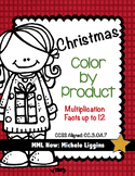 Christmas Multiplication Color by Product