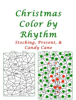 Christmas Color by Rhythm