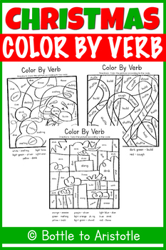 Christmas Color by Verb
