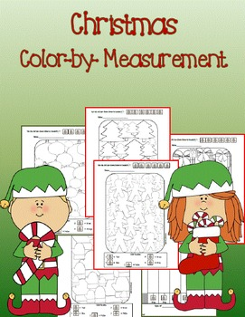 Christmas color by code {measurement}