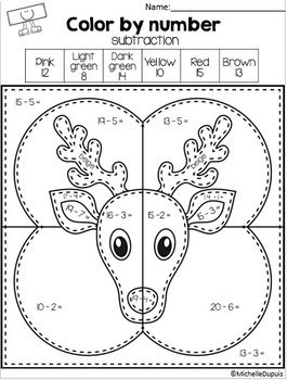 Christmas Coloring Pages by Michelle Dupuis Education | TpT