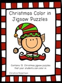 Christmas Color in Puzzles