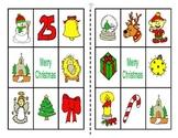 Christmas Colored Bingo Game