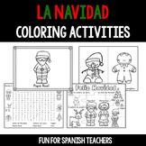 La Navidad -  Coloring Activities