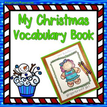 Christmas: My Christmas Vocabulary Book